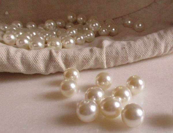 réf 12-p-12-0001 perles blanches 12 mm