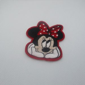 Écusson Minnie Applique Thermocollante